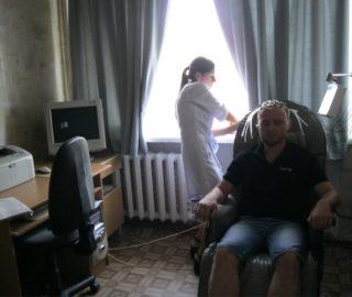 Процедура електроенцефалографії